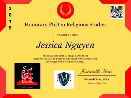 Honorary University Degrees