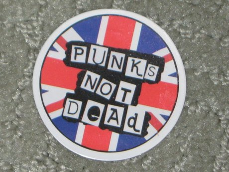 Punk UK sticker