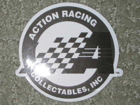Action racing sticker