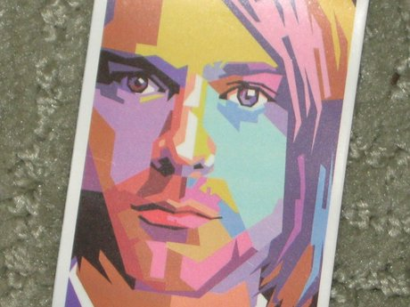 Kurt Cobain Nirvana sticker