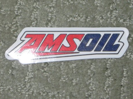 ams oil racing sticker