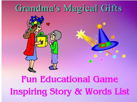 Grandma's Magical Gifts,  Mad Lib