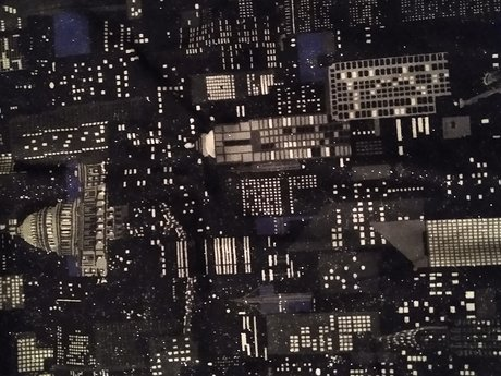 Cityscape Fabric - Large - 6'x2'