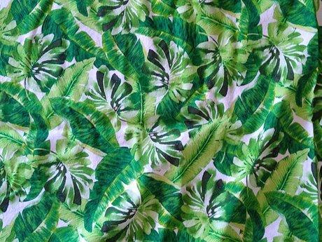 Large Green Fabric - 6'x2'