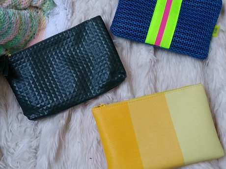 3 Ipsy Makeup Bags - Like new