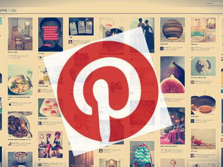 Custom Pinterest board