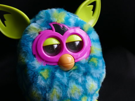Peacock Furby Boom 2012 *Tested*