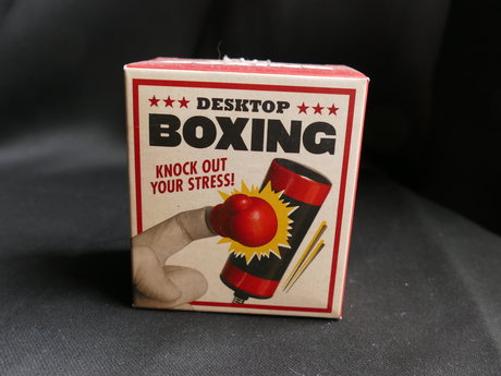 Adorable Desk Top Boxing Gift