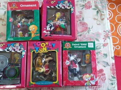 Looney Tunes Vintage Ornaments