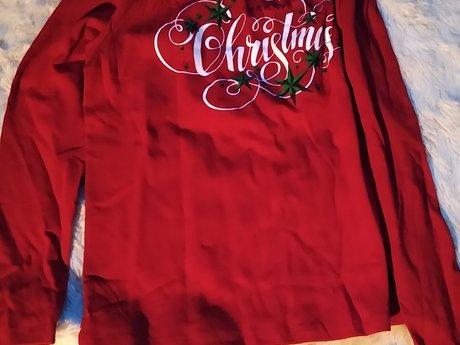 XL Christmas Shirt - Gently used
