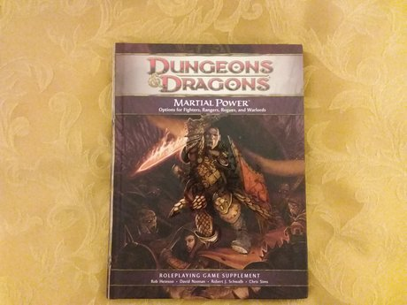 Dungeons & Dragons Martial Power