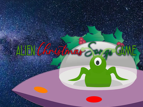Alien Carols Christmas Party Game