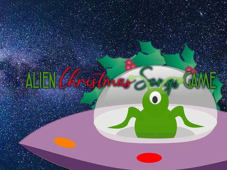 Alien Carols Christmas Party Game