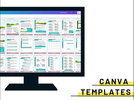 Template Library (Canva)