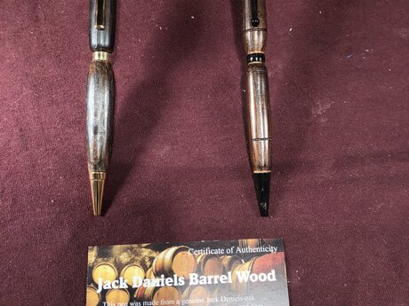 Jack Daniel's Barrel wood pen