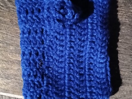 Handmade Crocheted Pocket