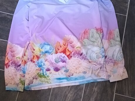 Large Shirt with Fishes
