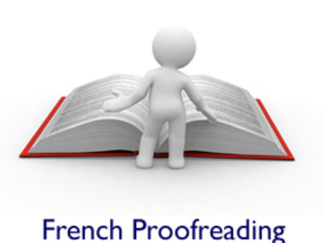 French page long proofreading