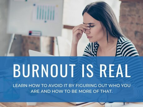 Step back from the edge of burnout