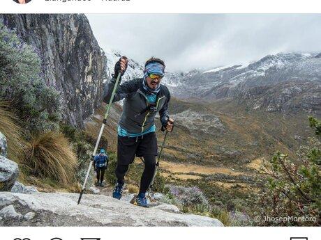 Trail running meditation