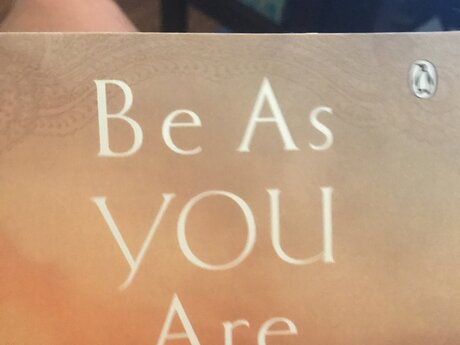 Be as you are, Sri Maharshi