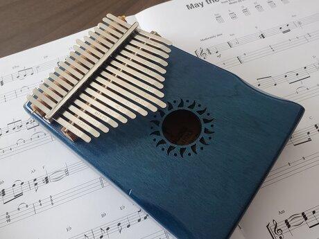 Kalimba music lesson