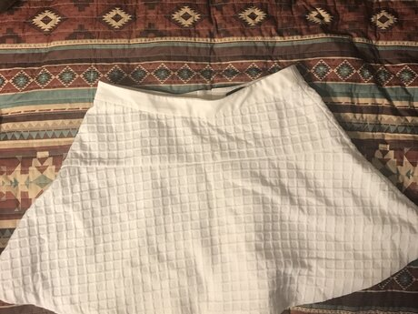 Banana republic white skirt, 6
