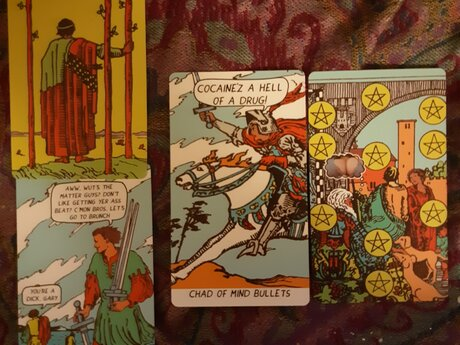 M o o d Tarot: 3-Card Reading