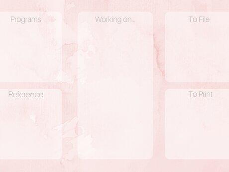 Pink Desktop Wallpaper Organizer