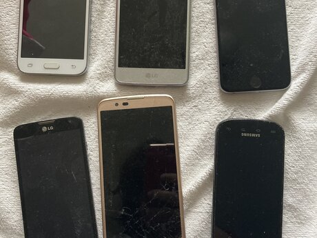 Working used phones