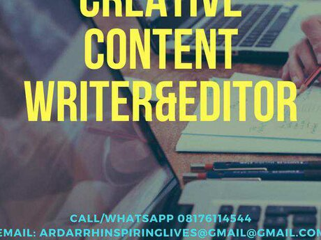 Freelance Content Writing, Editing