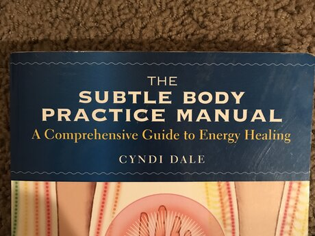 Energy healing manual book
