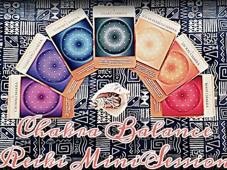 Reiki Chakra Balance Minisession