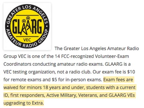 Ham Radio License VolunteerExaminer