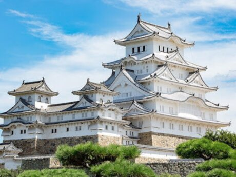 show you Himeji Castle on zoom