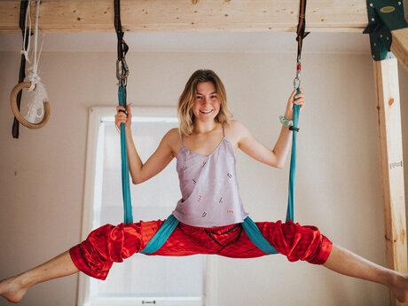 Aerials and Yoga Teacher