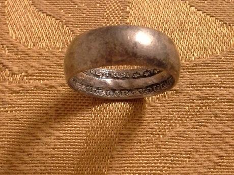 1905 half dollar ring