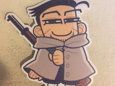 Golden Kamuy sticker