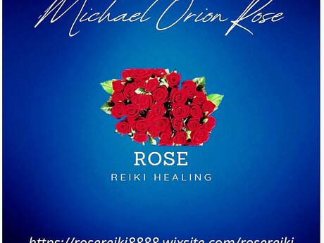 60 minute Rose Reiki session