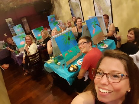 Paint parties and Jane of all trade