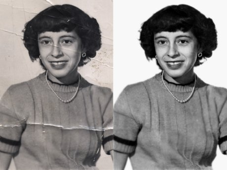 Old or Damaged Photo Restoration
