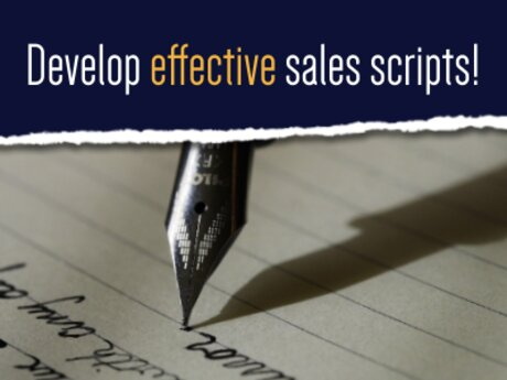 Develop Effective Sales Scripts