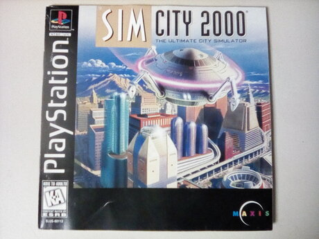 Sim City 2000 for PS1