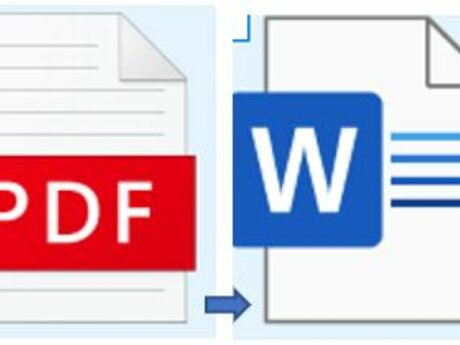 Type your PDF into Word
