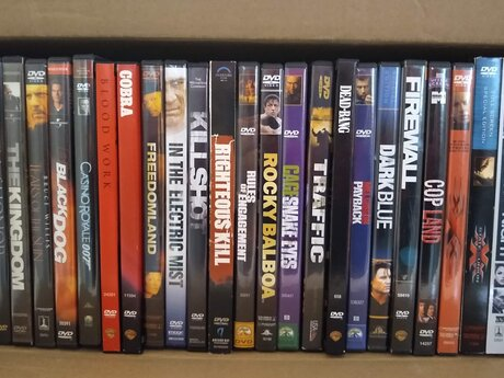 27 Action DVDs