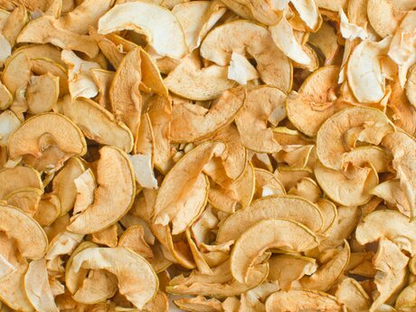 Organic dried apples