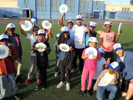 Ultimate Frisbee coaching