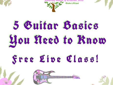 5 Guitar Basics You Should Know