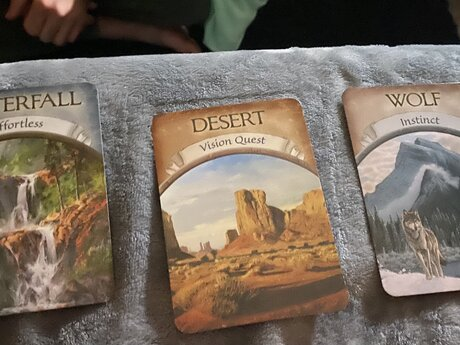 Intuitive Spread - up to 9 cards