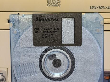 Read your PC 3.5 Floppy Disk